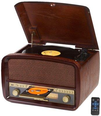 Camry CR 1112 - Retro platenspeler + CD/MP3/USB