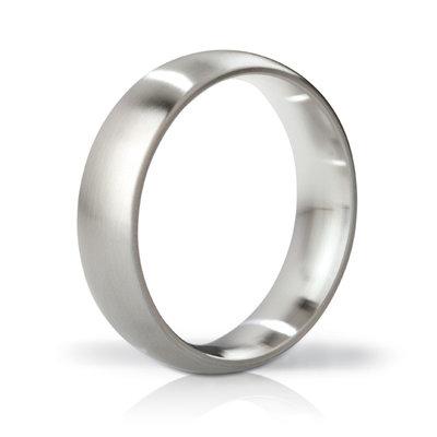 Mystim - His Ringness Earl Brushed 48mm - Penisringen - Niet-vibrerend - E23191 - 4260152464112 *7TH*
