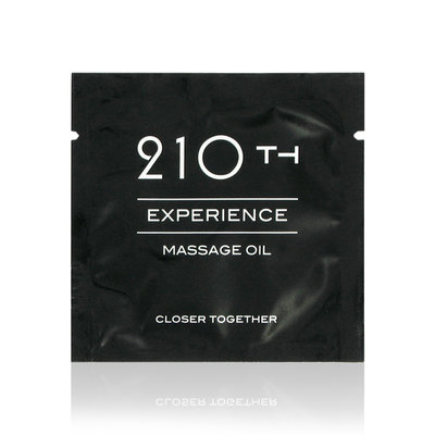 210th - Sachet Massage Olie - POS materiaal - Testers & Samples - E25135 - E25135 *7TH*