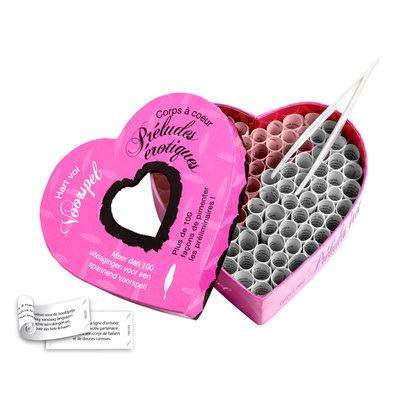 Hart Vol Voorspel & Corps a Coeur Preludes Erotiques (NL-FR) - Spellen -  - E26396 - 8717703521887 *7TH*
