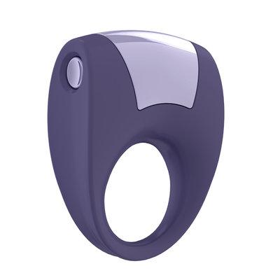 Ovo - B8 Vibrerende Ring Lila - Penisringen - Vibrerend Oplaadbaar - E27025 - 4053856999161 *7TH*