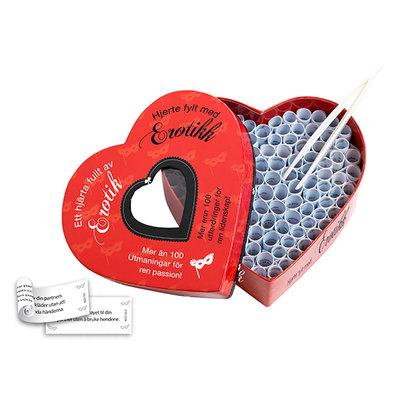 Ett Hjarta Fullt av Erotik & Hjerte Fylt med Erotikk (NO-SE) - Spellen -  - E27947 - 9789088190186 *7TH*