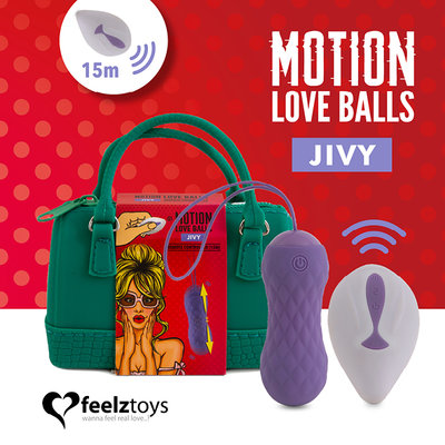 Feelztoys - Remote Controlled Motion Love Balls Jivy - Kegel balls -  - E28191 - 8717903274705 *7TH*
