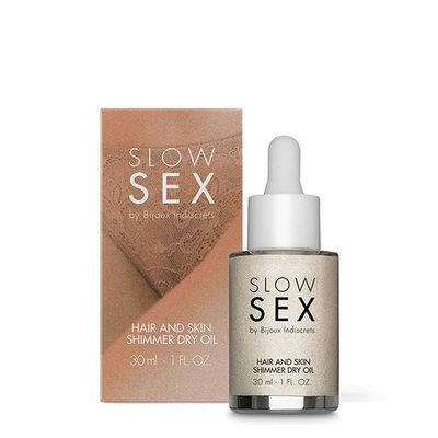 Bijoux Indiscrets - Slow Sex Hair & Skin Shimmer Dry Oil - Lichaamsverzorging -  - E28320 - 8436562013790 *7TH*