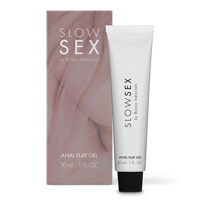 Bijoux Indiscrets - Slow Sex Anaal Play Gel - Glijmiddel - Anaal waterbasis - E28321 - 8436562013806 *7TH*