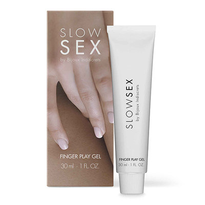 Bijoux Indiscrets - Slow Sex Vinger Play Gel - Glijmiddel -  - E28322 - 8436562013813 *7TH*