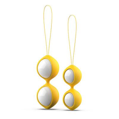 B Swish - bfit Classic Kegel Ballen Geel - Kegel balls -  - E28685 - 4897106300082 *7TH*
