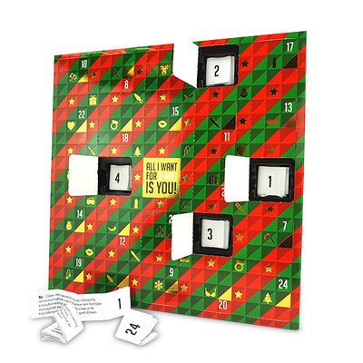 Erotische Advent Kalendar (NL-DE-EN-FR-ES-IT-PL-RU-SE-NO) - Spellen -  - E29284 - 8717903274637 *7TH*