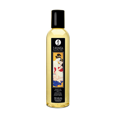 Shunga - Massage Olie Eiland Bloesem - Lichaamsmassage - Massage olie - E29713 - 697309010245 *7TH*