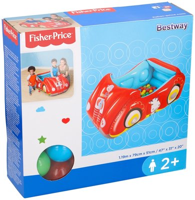 Fisher-Price Ballenbak Racewagen *7TH*