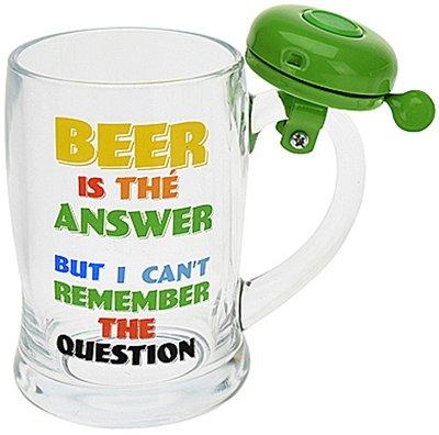Bierpul met bel - groen *7TH*