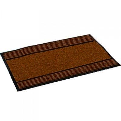 Magic Carpet Brown/Striped: superabsorberende binnen- en buitenmat * Magic Carpet - 8719128647616 *7TH*