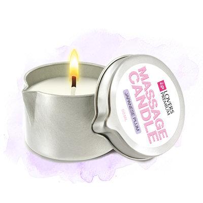 LoversPremium - Massagekaars Japanese Plum - Lichaamsmassage - Massagekaars - E22040 - 8717903271339 *6TH*