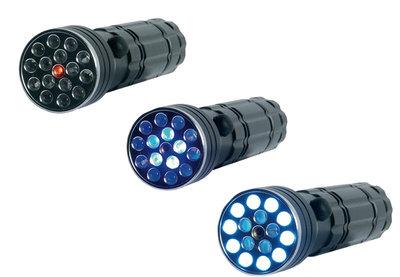 Brüder Mannesmann LED zaklamp / UV-licht / laserpointer *6TH*