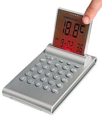Multifunktionele alarm klok met push-up LCD display - Zie video *6TH*