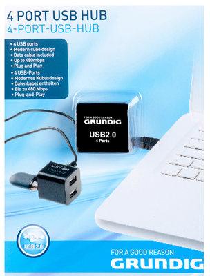 Grundig 4-Poorts USB-Hub *6TH*
