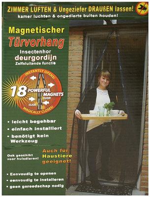 Insektengordijn met magnetische sluiting *6TH*