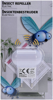 Elektrische ultrasone Insektenverdrijver *6TH*