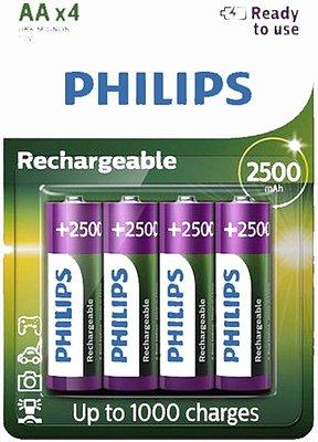 Philips 4xAA Oplaadbare batterijen *6TH*