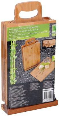 Bamboe snijplankset *6TH*