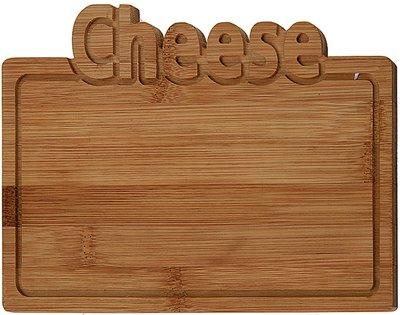 Bamboe snijplank -Cheese - 25x17cm *6TH*