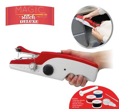 Magic stitch Deluxe - Hand-Held Sewing Machine (zie video)  * Magic Stitch - 8719128647951 *6TH*
