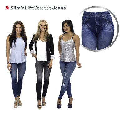 Slim n Lift Caresse Jeans (Set of 3) Size L/XL * Slim 'n Lift - 8719128640372 *4TH*