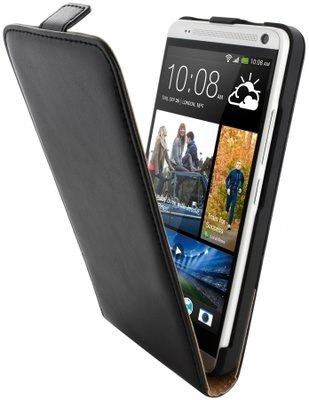 Mobiparts Classic Flip Case HTC One Max Black - AANBIEDING - Case...