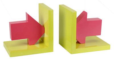 Boekensteunen  (geel/rood) *3TH*