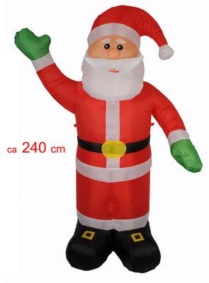Kerstman 240cm opblaasbaar *4TH*