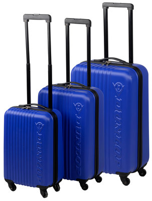 Dunlop Trolleyset ABS blauw (3 dlg) *2TH*