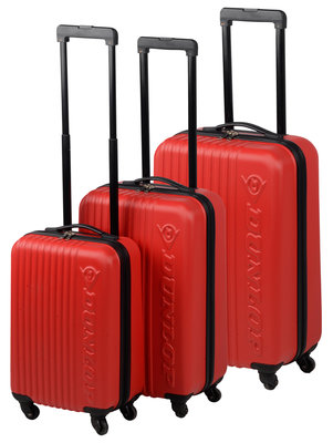 Dunlop Trolleyset ABS rood (3 dlg) *2TH*