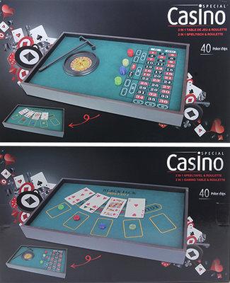 Casino Roulette & Speeltafel (2-in-1) *3TH*