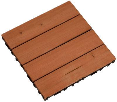 Houten vloerpaneel / terrastegel *2TH*