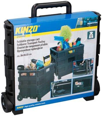 Kinzo Trolley met vouwkrat *4TH*