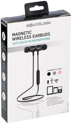 Draadloze Bluetooth oordopjes roze *3TH*