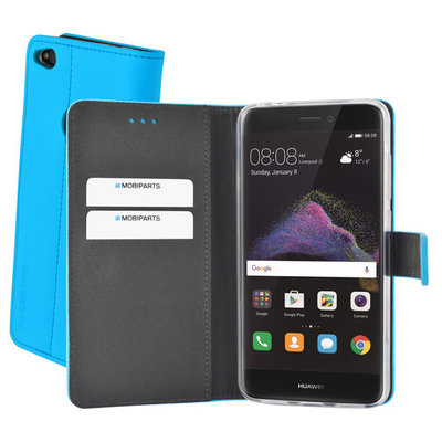 Mobiparts Premium Wallet TPU Case Huawei P8/P9 Lite (2017) Light Blue - Cases > Wallet Cases - TKP-52798 SKU: MP-52798 EAN: 8718066356376 *4TH*