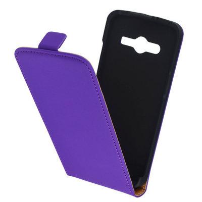 Mobiparts Premium Flip Case Samsung Galaxy Core LTE G386F Purple - Cases > Flip Cases - TKP-30225 SKU: PRE-FLIP-GCORELTE-08 EAN: 8718066257017 *7TH*