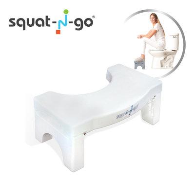 Squat-n-Go White (zie video)  * Squat-n-Go - 8719128643816 *3TH*